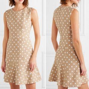 J.Crew Marcy Polka-dot Embroidered Tweed Dress 6